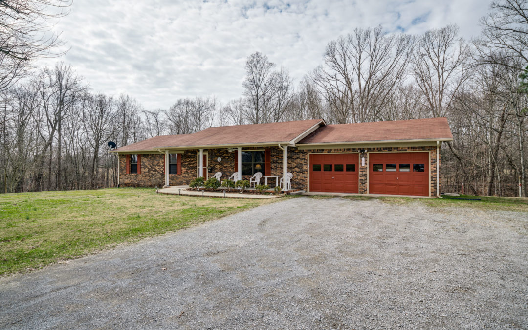 Brick Home 16.07 +- Acres & Personal Property