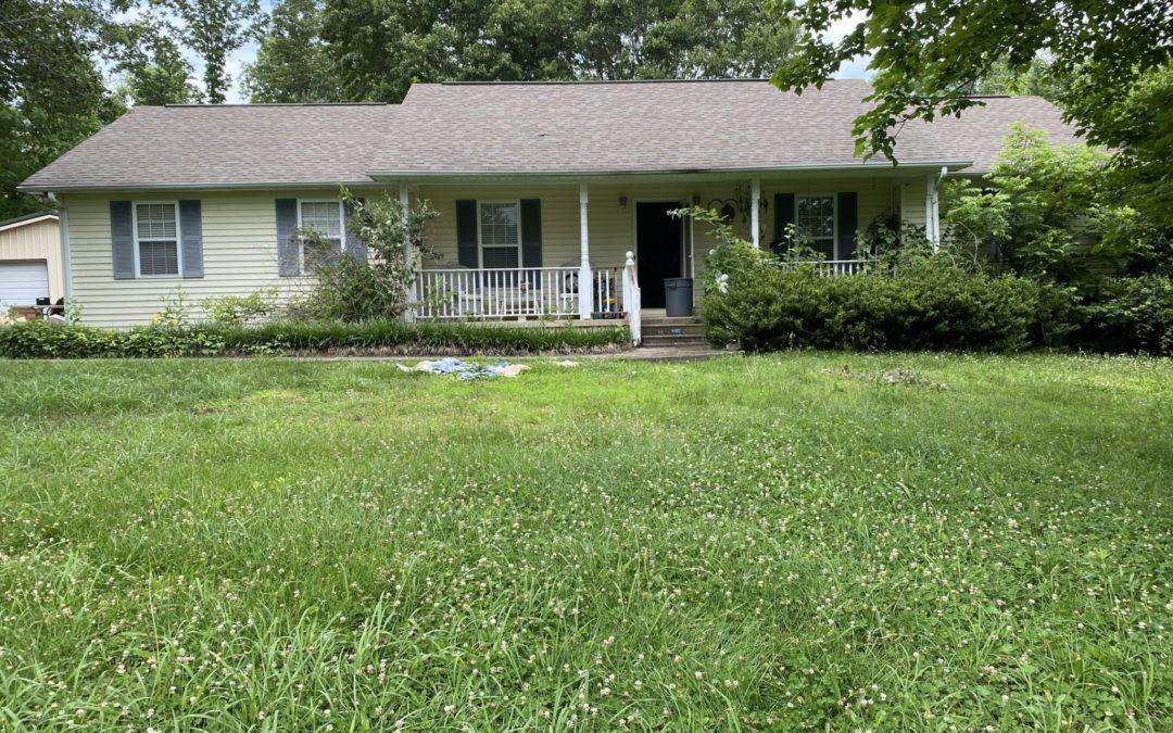 Home & 3.08+- Acres w/Detached Garage