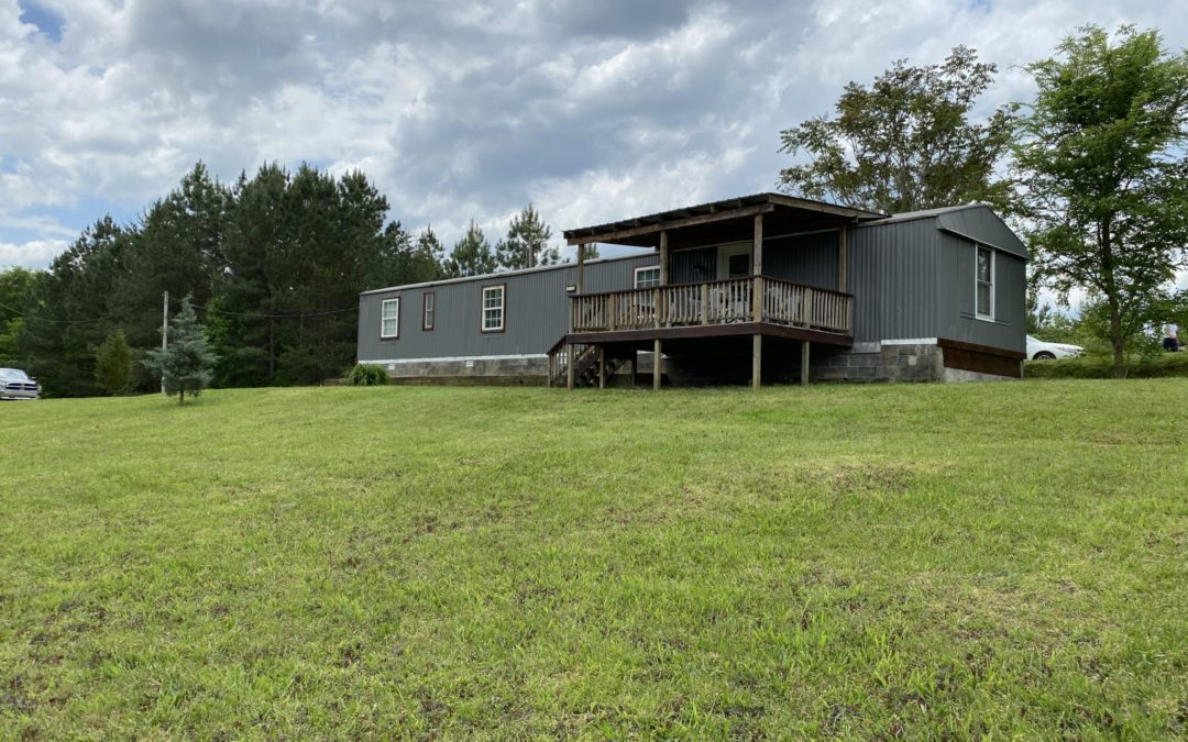 Mobile Home & 7+- Acres