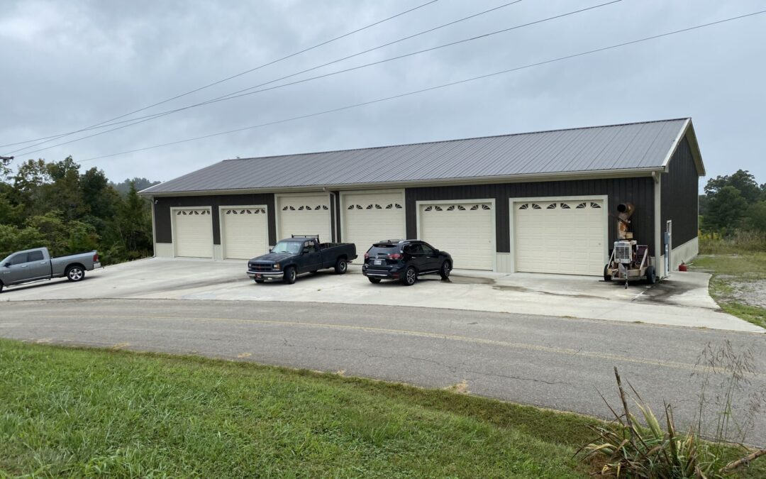 Large Shop Building & 20+- Acres in Tracts, Fenced, Barn