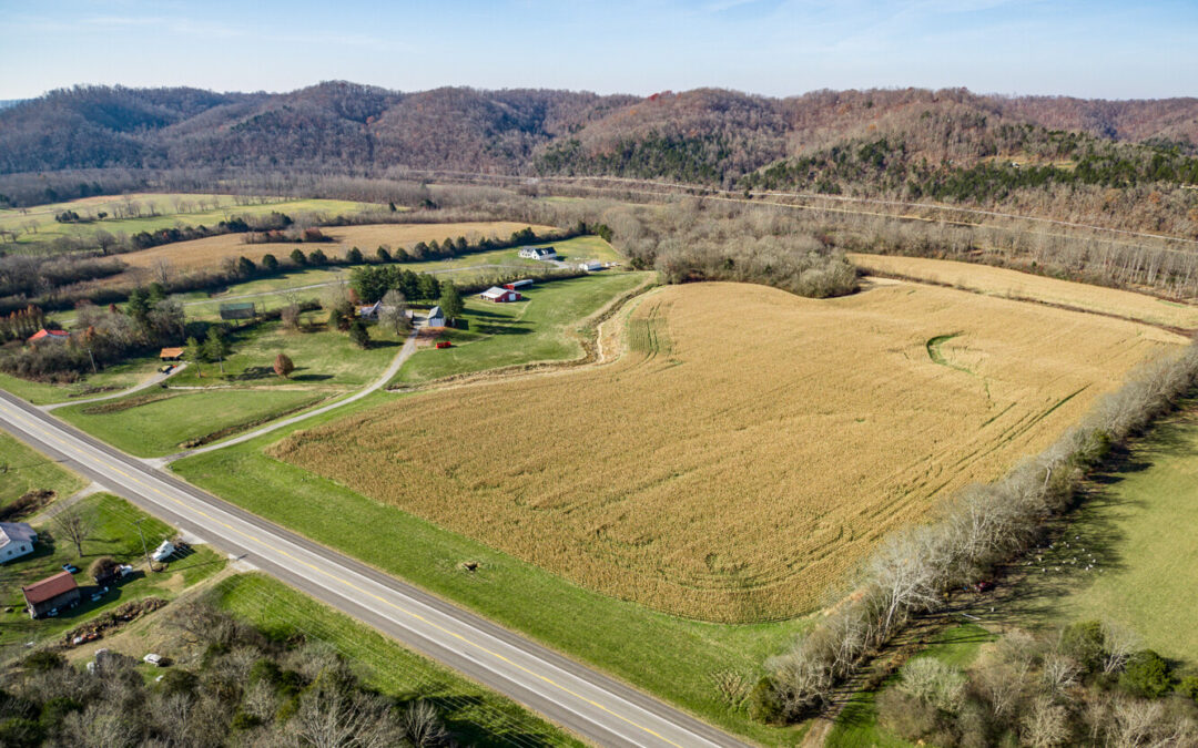 Custom Home & 39.26+- Acre Farm, Buildings, Barns, 2 Tracts