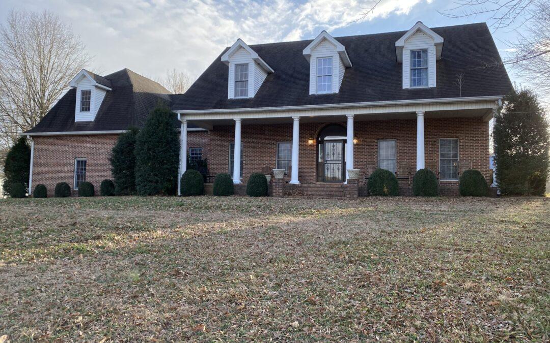 Custom Brick Home & 40.90+- Acres, 4 Tracts