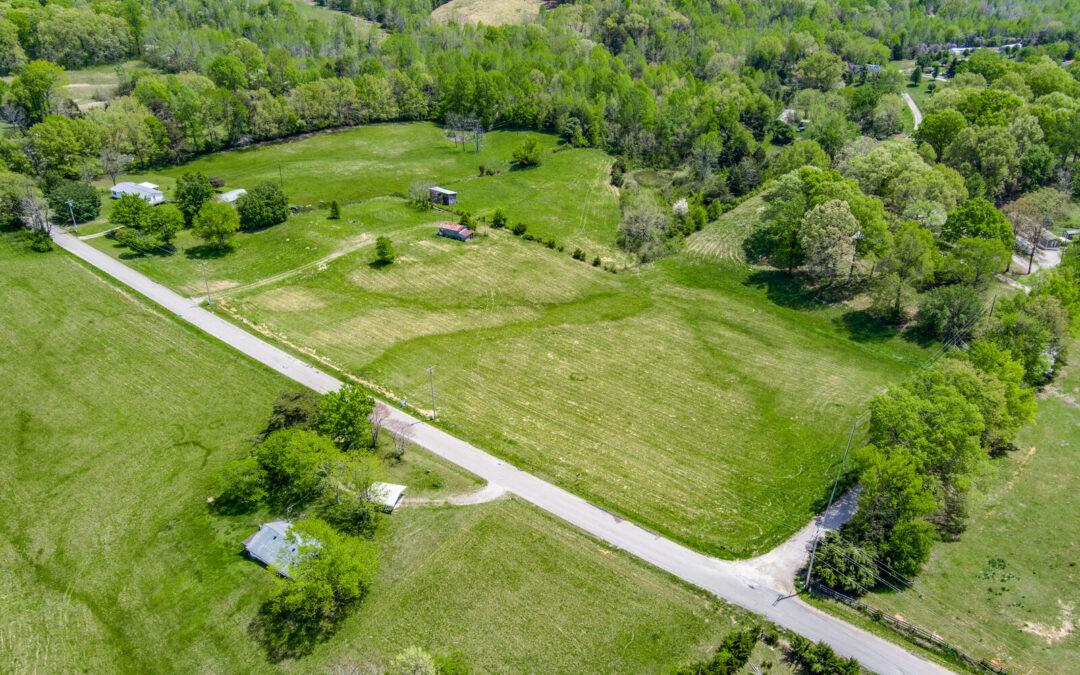 8.68+- Acres Pasture Ground, Outbuildings