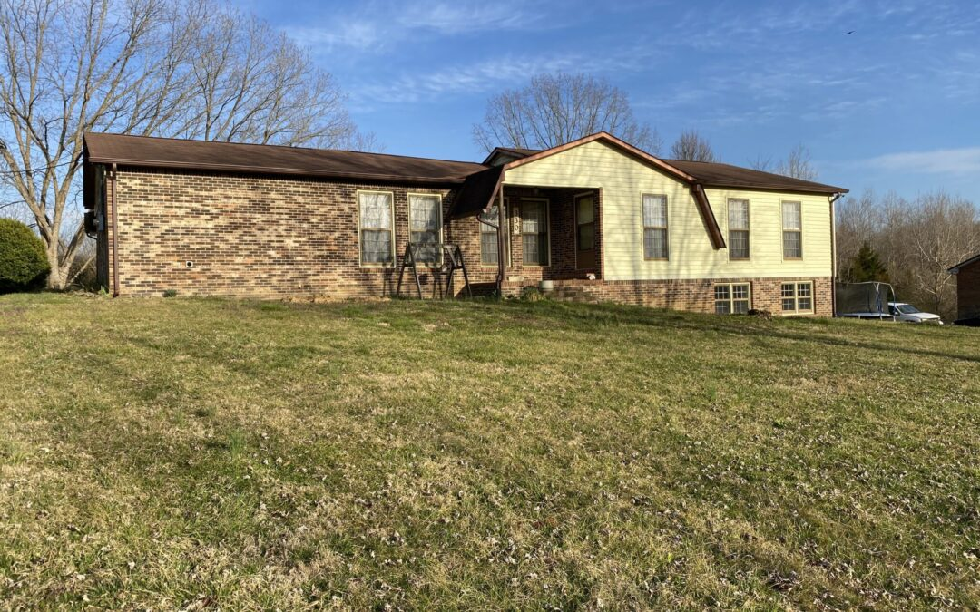 Brick Home & 3.30+-Acres, Basement