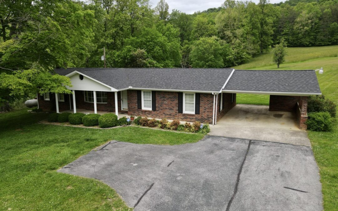 BRICK HOME & 39.36+/-ACRES • BASEMENT • TIMBER • PERSONAL PROPERTY