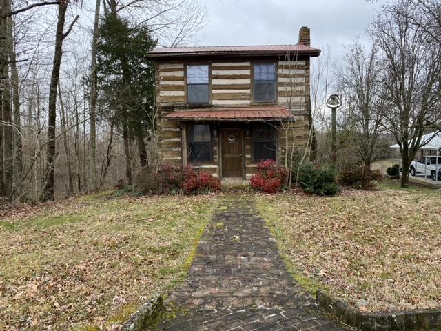 Rustic Cabin & 0.39+-Acres, Bricked Driveway