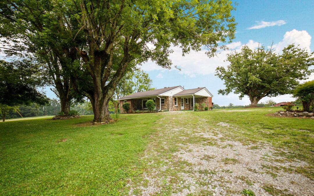 Home & 1.40+/- Acres • Full Basement